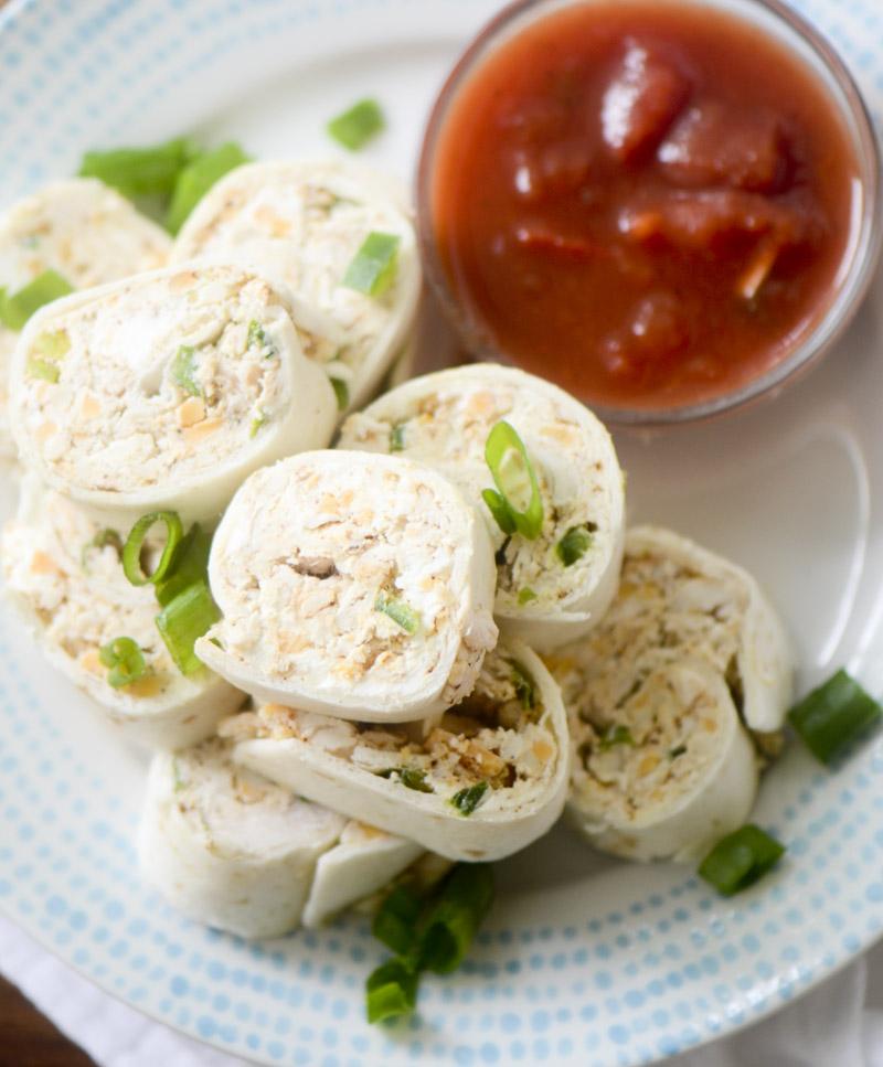 Chicken Tortilla Rollups 020