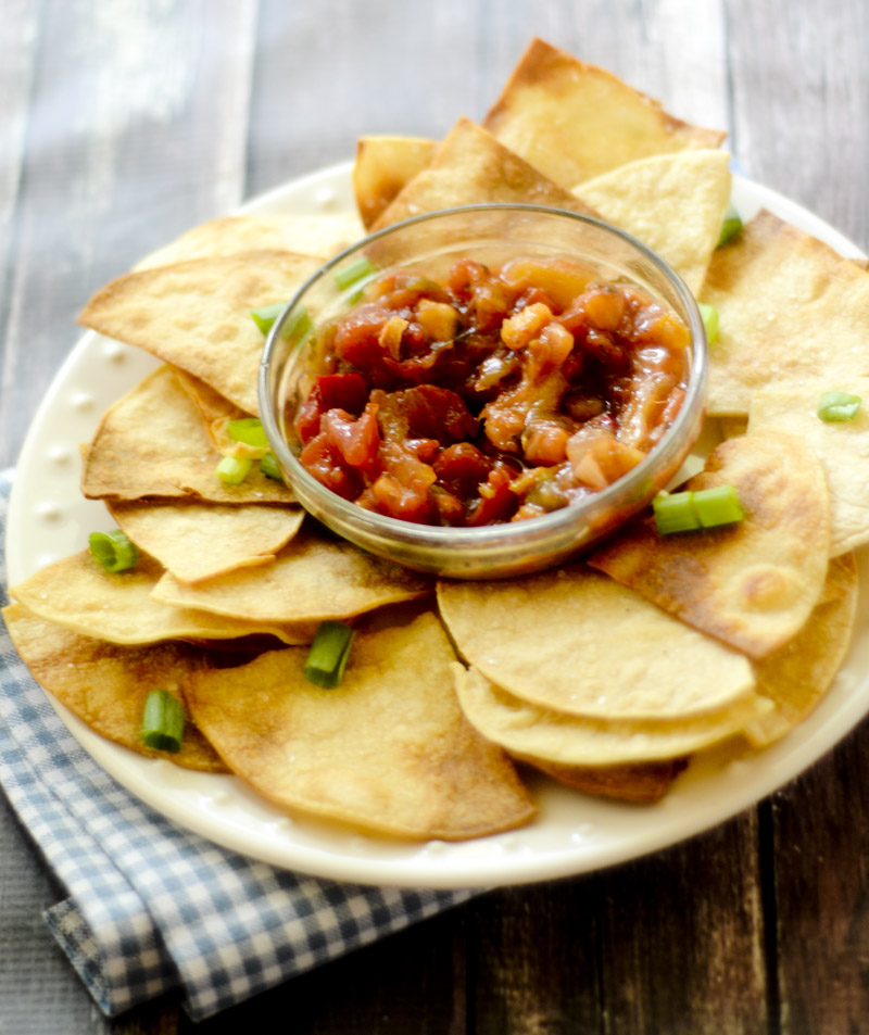 homemade baked tortilla chips – recipe diaries