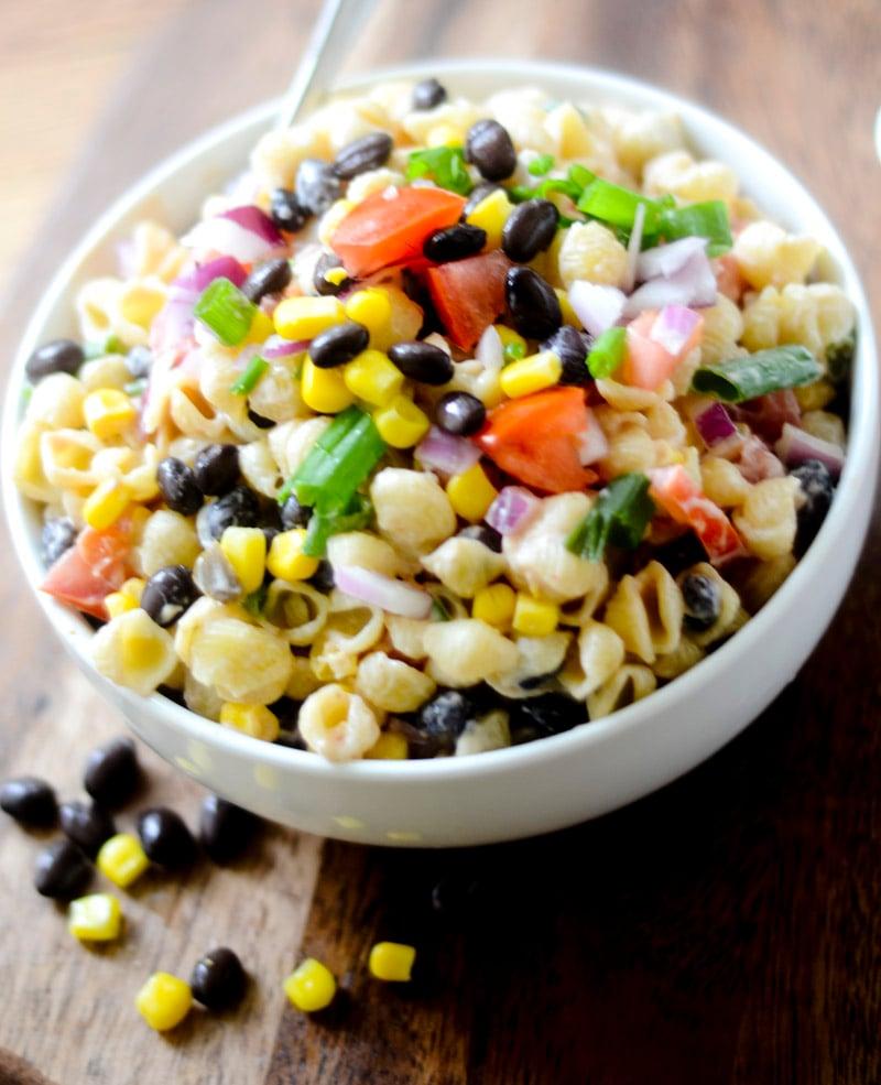 Mexican Macaroni Salad 001