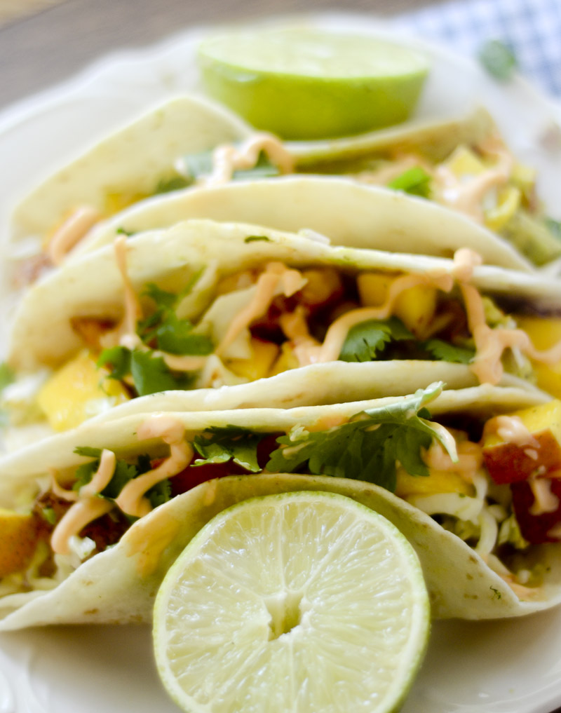 Shrimp Tacos with Mango Citrus Slaw 005