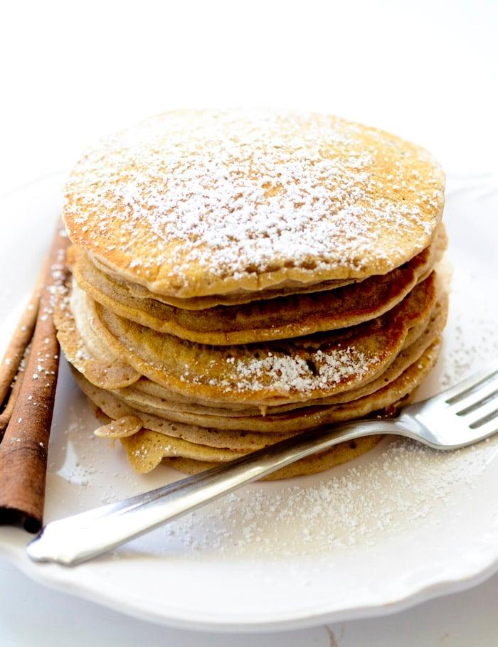 cinnamon applesauce pancakes 004
