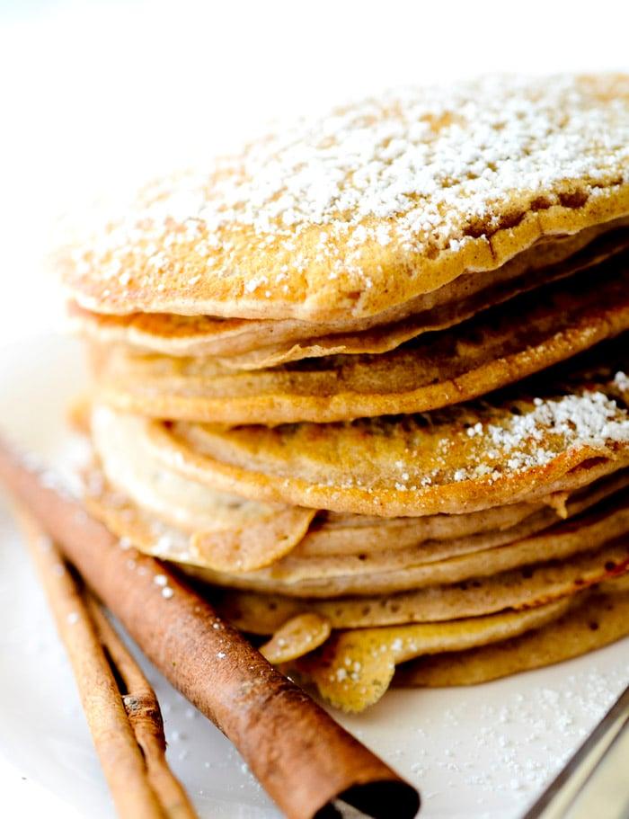 cinnamon applesauce pancakes 014