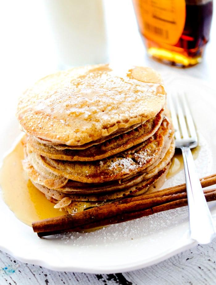 cinnamon applesauce pancakes 032