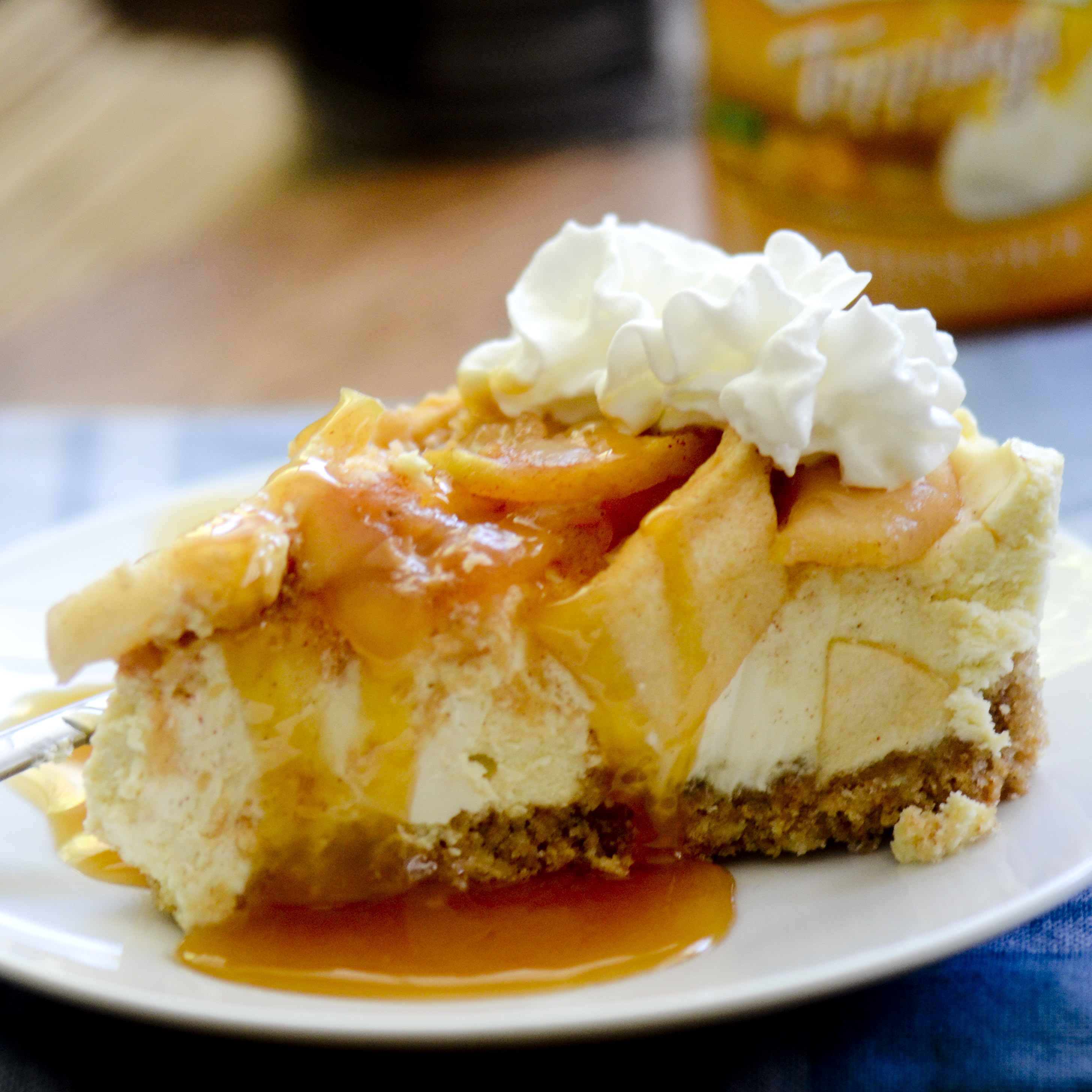 caramel apple cheesecake 007