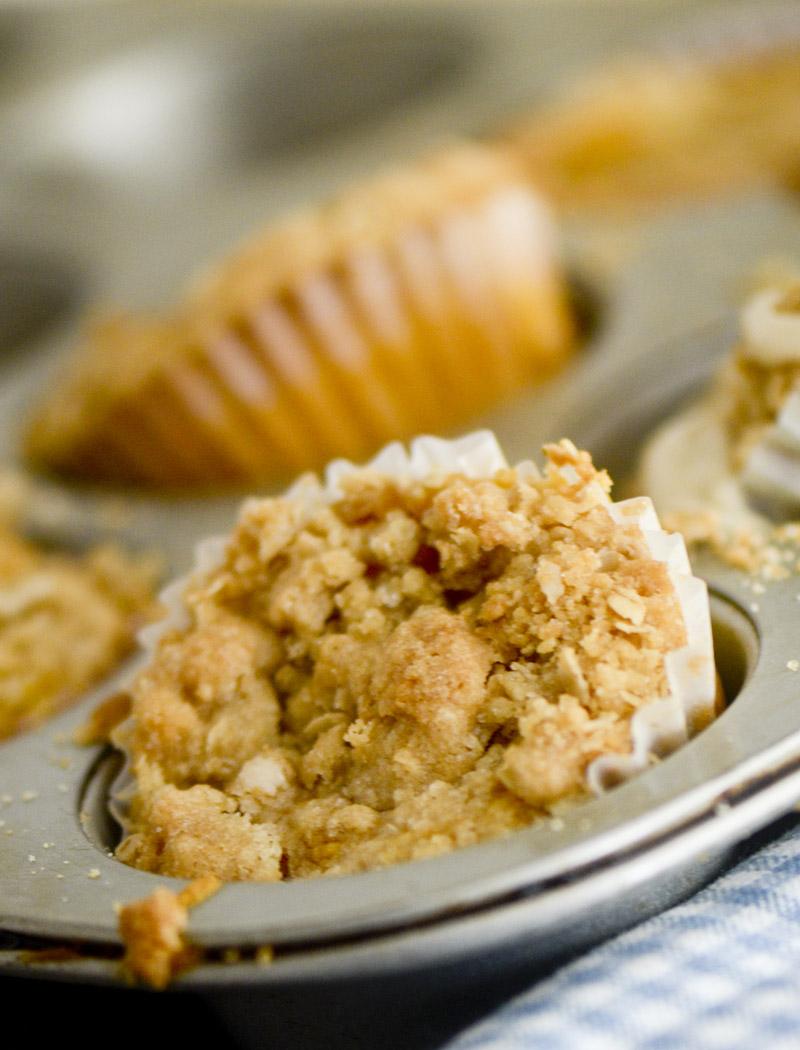 pumpkin streusel muffins 028