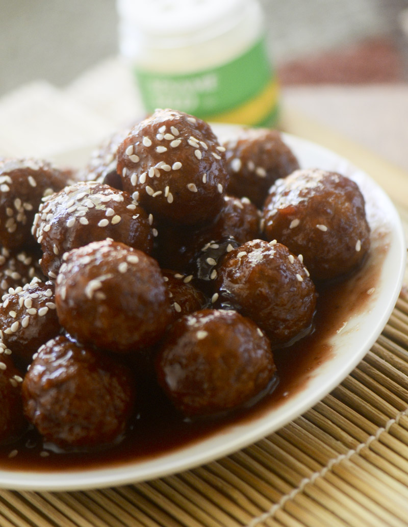 slow cooker sweet and sour meatballs 047
