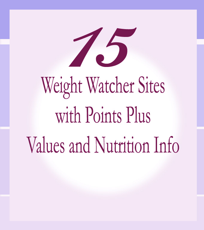 15 weight watcher sites with points plus recipe diaries. Black Bedroom Furniture Sets. Home Design Ideas