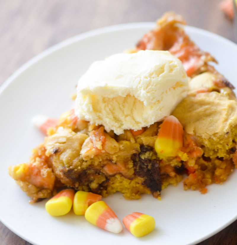 Candy Corn Cookie Pizza 058
