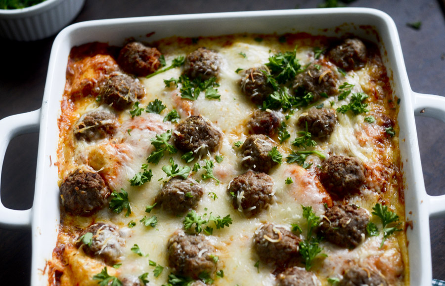 bubble up meatball sub casserole 034