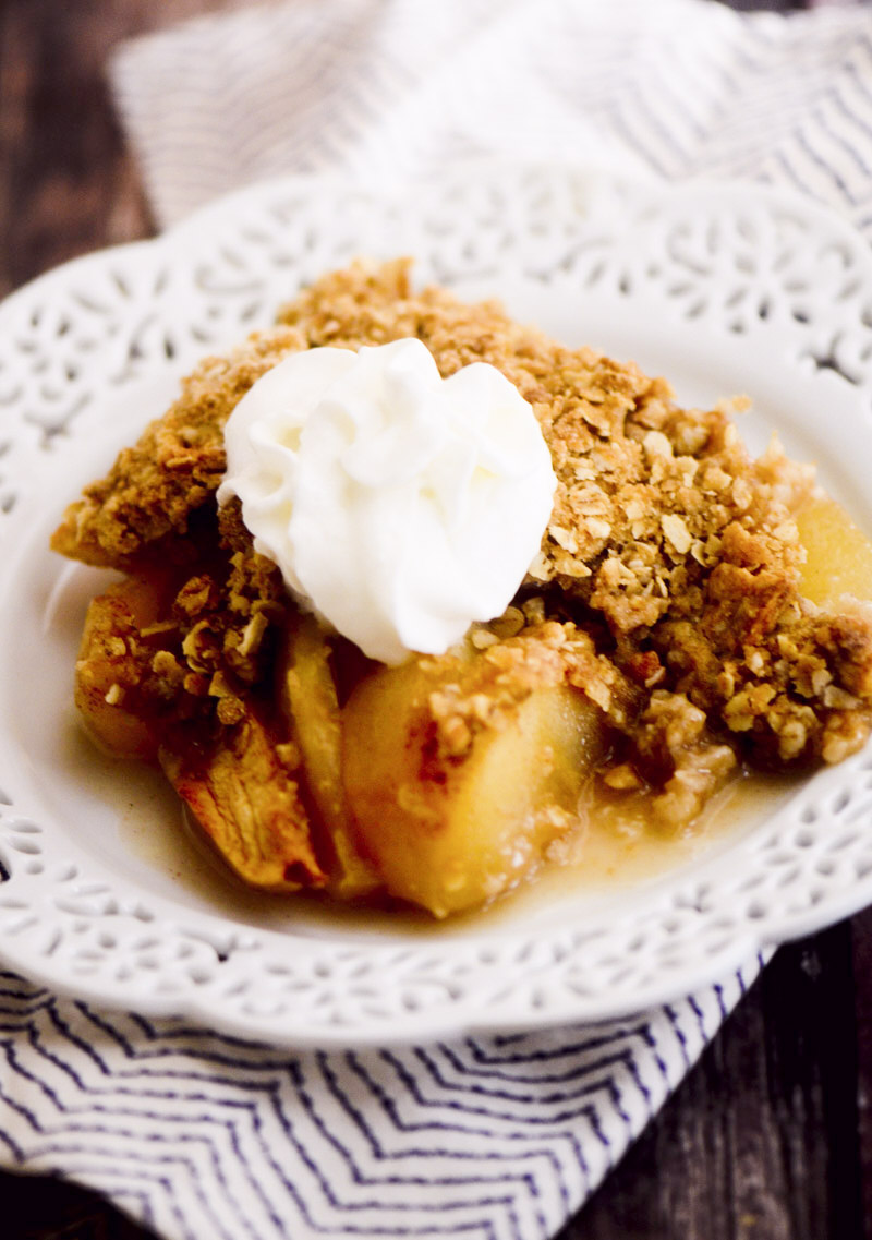 weight watcher's apple crisp 028