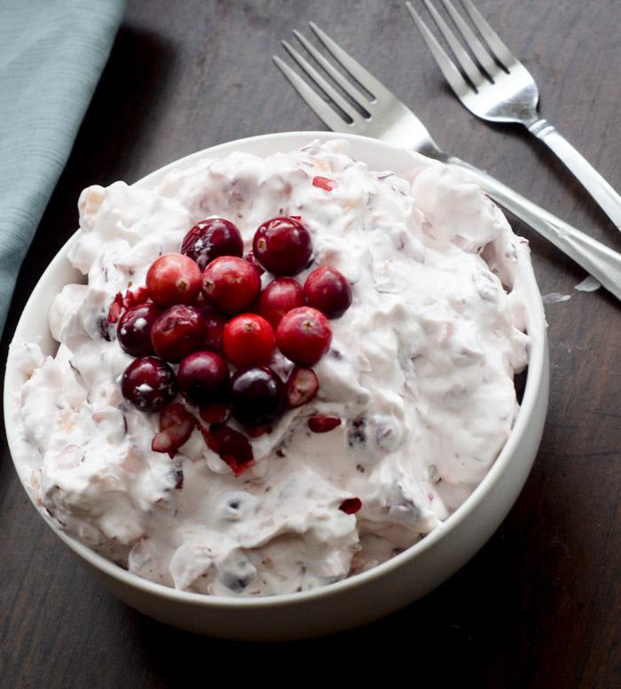 cranberry fluff salad 034