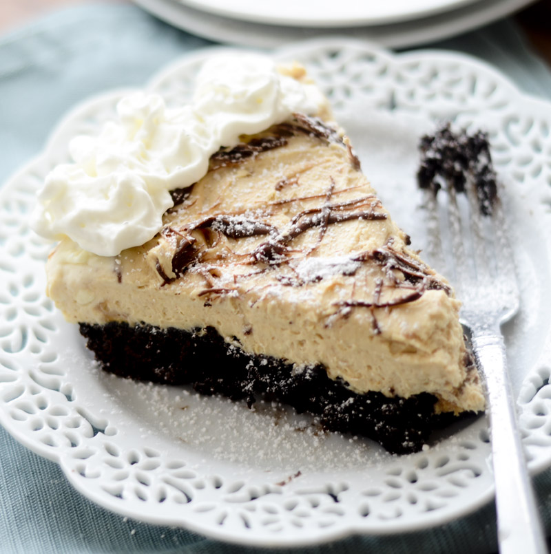 peanut butter brownie cheesecake 039