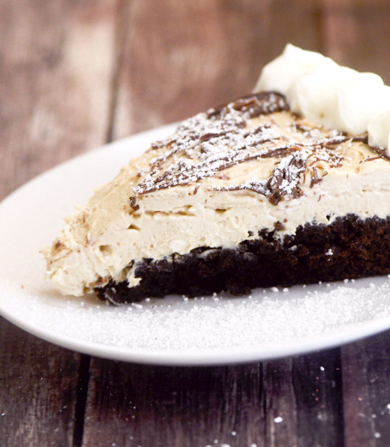peanut butter brownie cheesecake 087