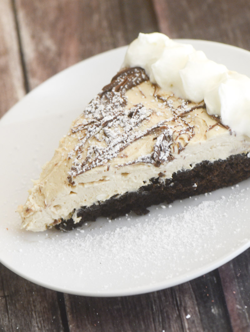 peanut butter brownie cheesecake 088