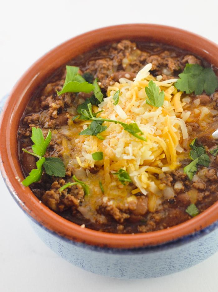 beef and chorizo chili 004
