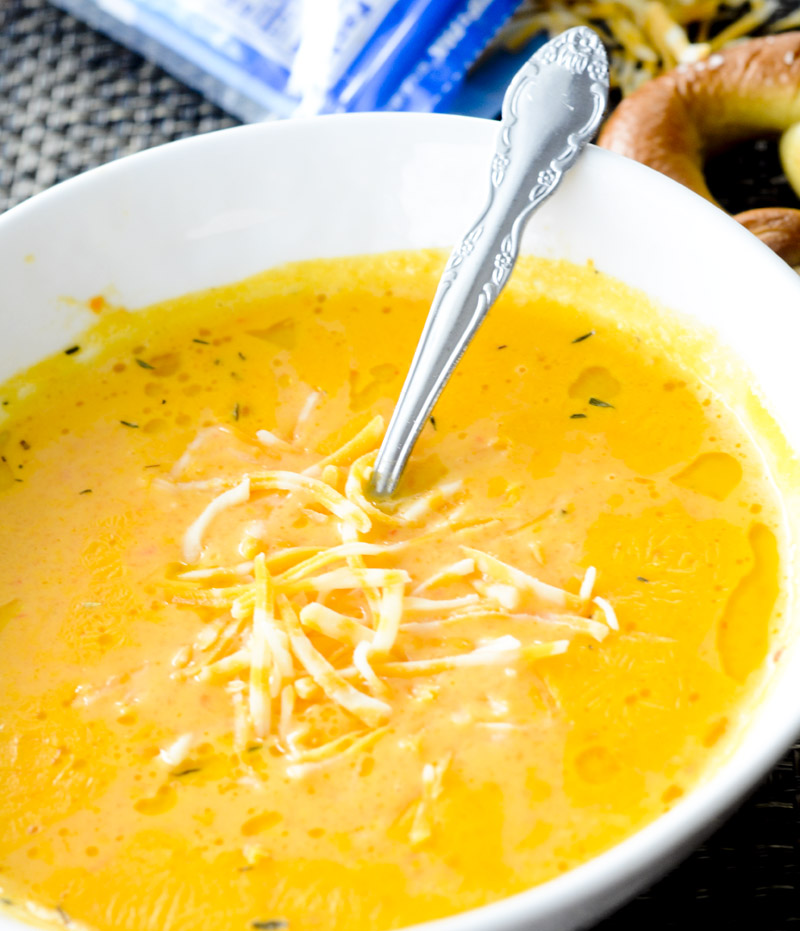 best ever beer cheese soup 079