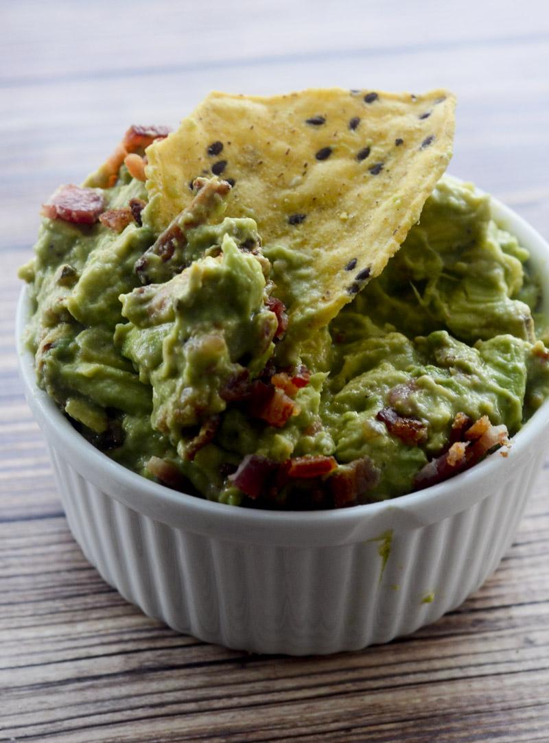 BLT Guacamole – Recipe Diaries
