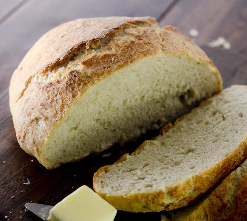 no knead crusty bread 035