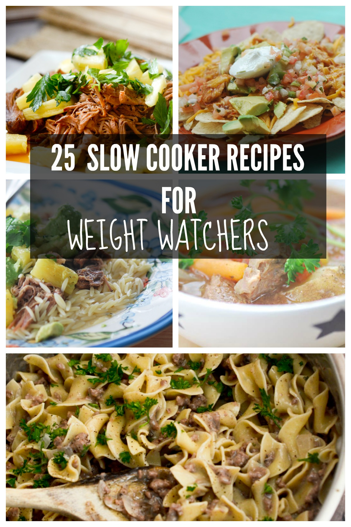 25 Slow Cooker Recipes for Weight Watcher's