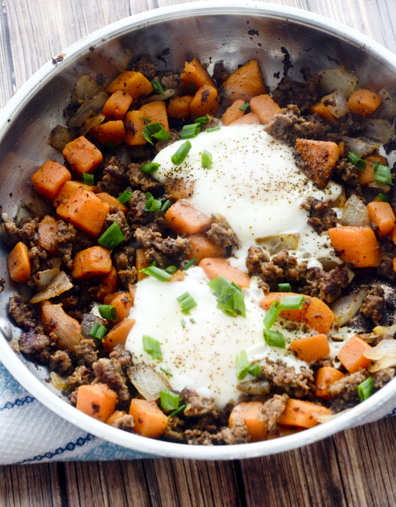 Sweet Potato and Sausage Hash – Recipe Diaries