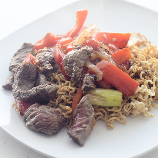 lighter beijing beef  weight watcher's   recipe diaries