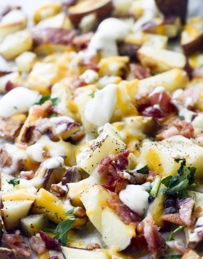 Cheesy Bacon Ranch Potatoes - Recipe Diaries