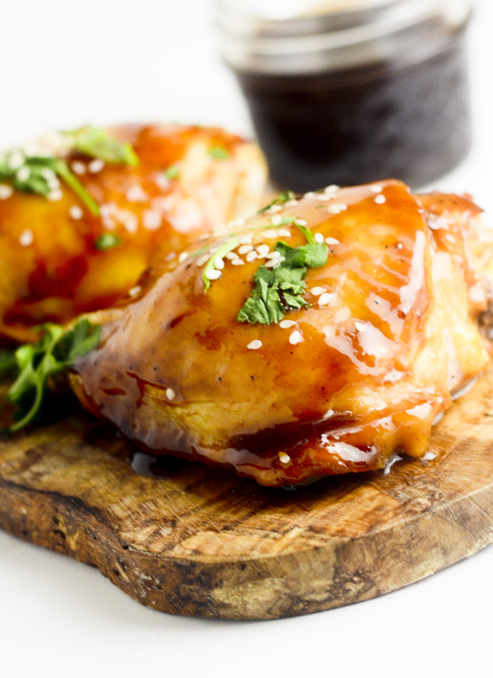 Hoisin-and-Honey Glazed Chicken Thighs - Recipe Diaries