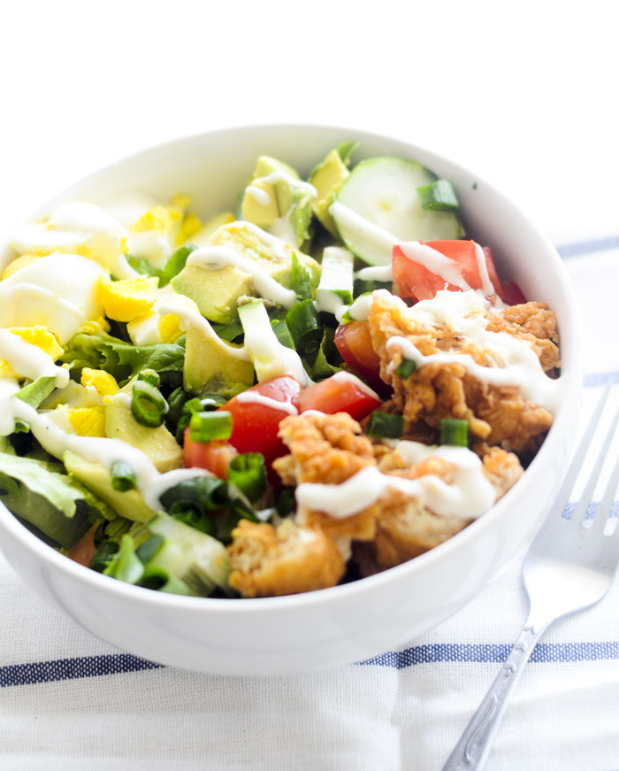 chicken tender cobb salad 012
