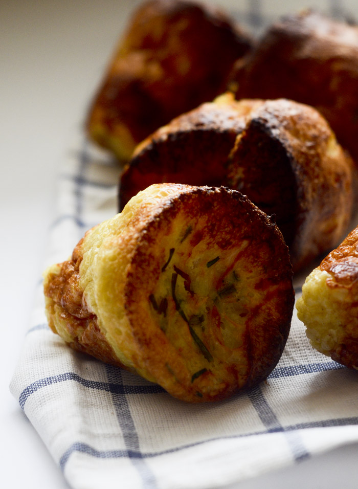 Gruyere and Chive Popovers