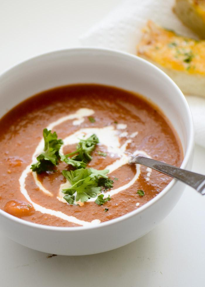 Simple Tomato Soup – Recipe Diaries