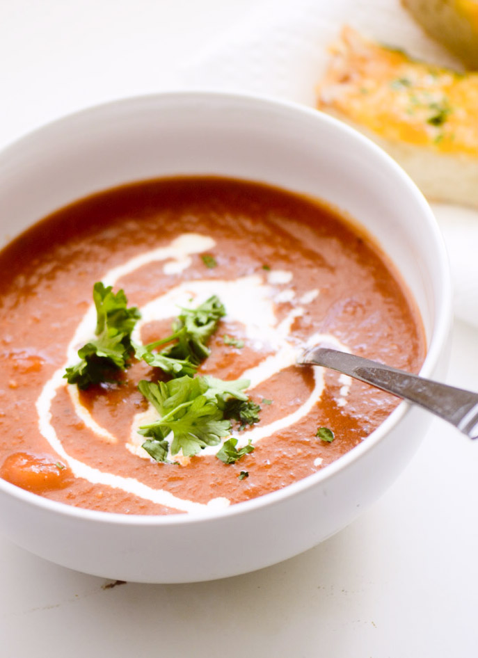 Simple Tomato Soup – Recipe Diaries