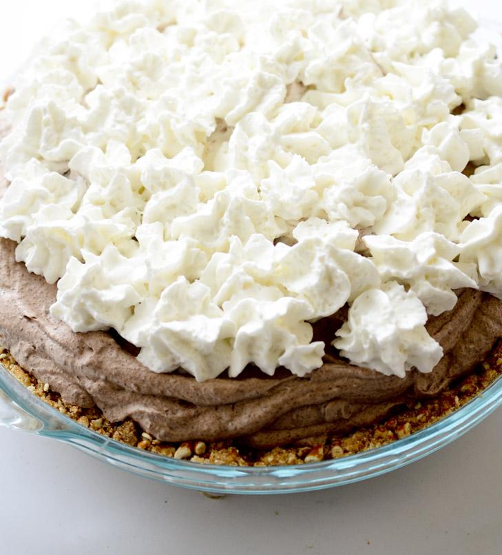 chocolate mousse pie 021