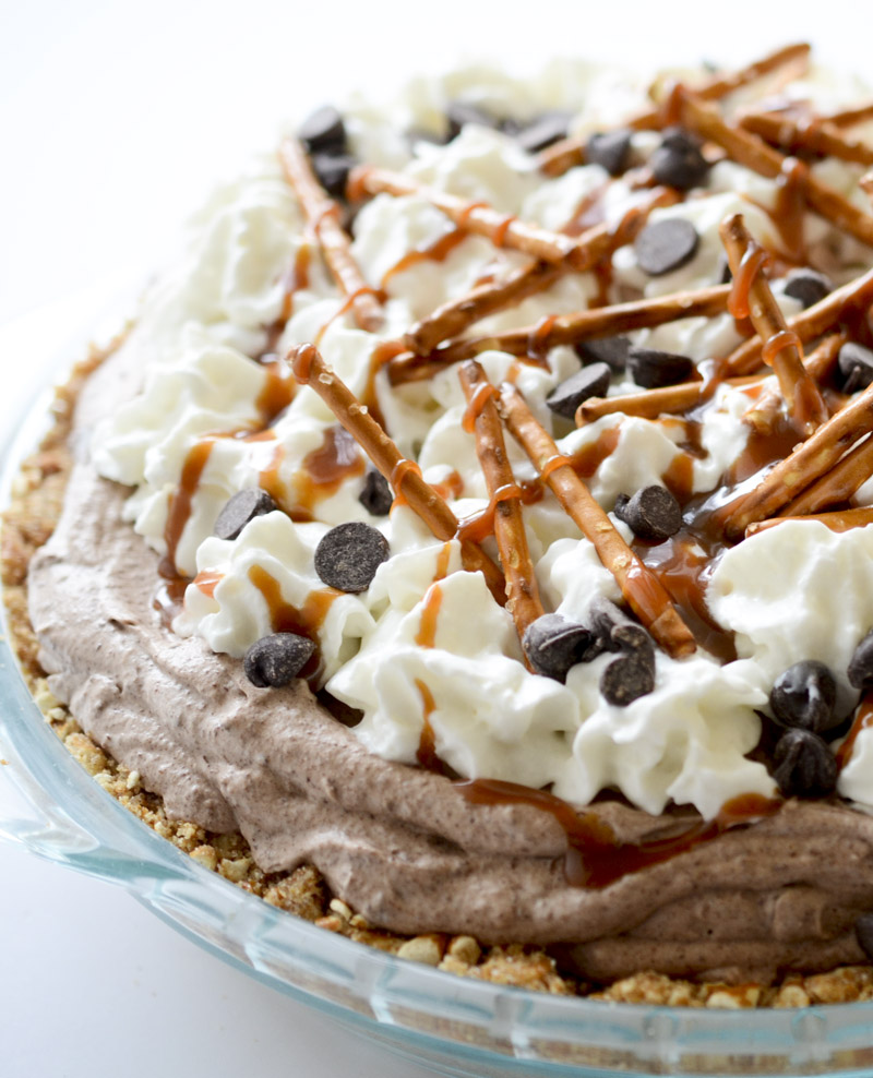 Chocolate Whipped Cream With Chocolate Chips