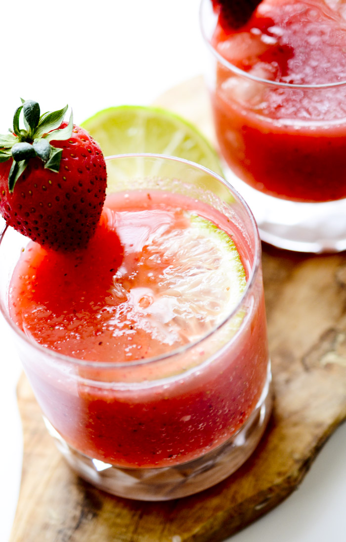 Strawberry Margaritas and a new Lens!