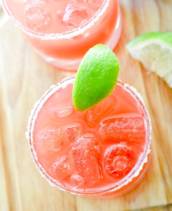 2 point Watermelon Margaritas - Recipe Diaries