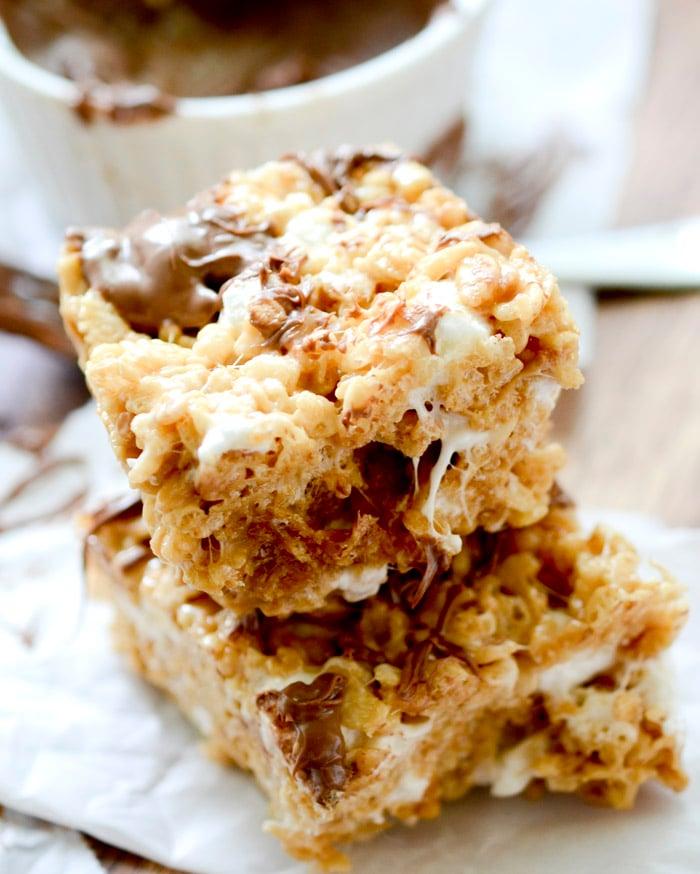 Cookie Butter Rice Crispy Treats