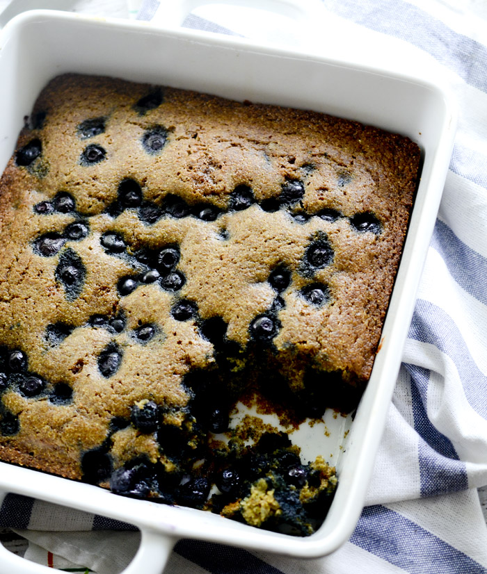 Overnight Blueberry Coffee Cake