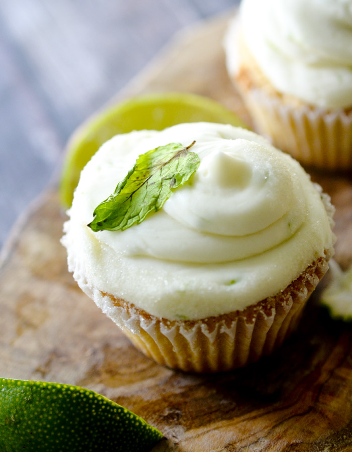 Mojito Cupcakes - all your favorite flavors of a Mojito combined into a cupcake!