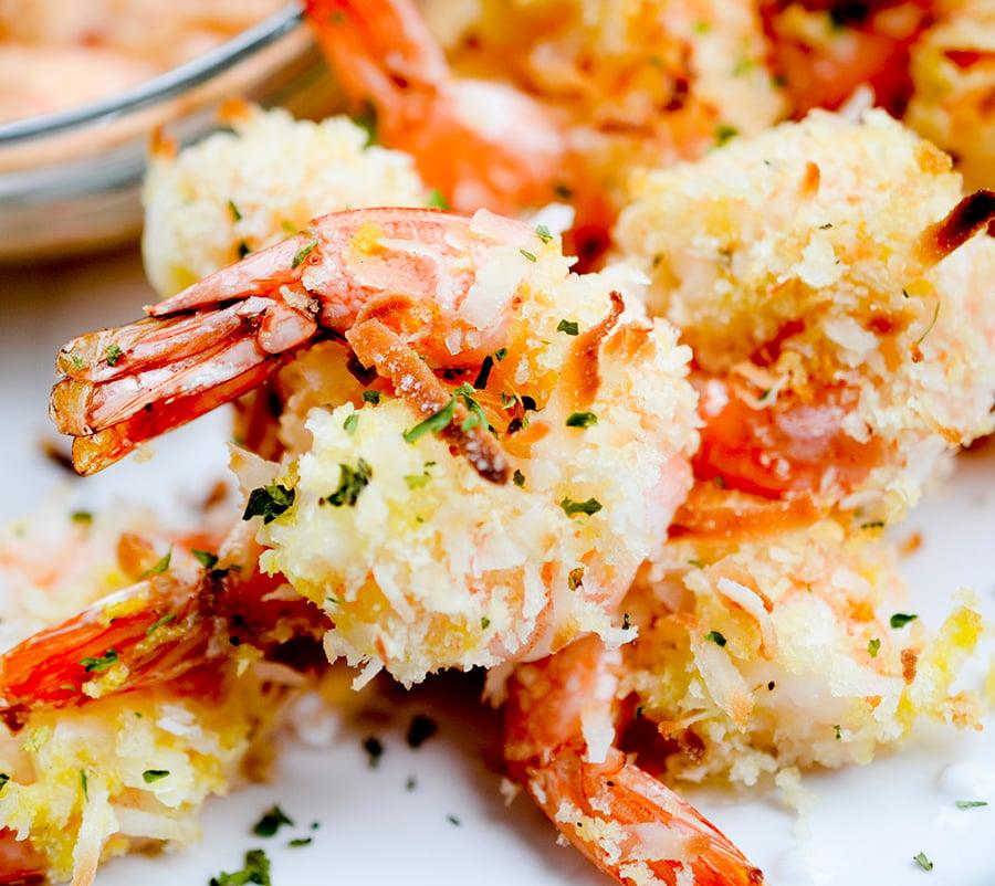 baked coconut shrimp 004