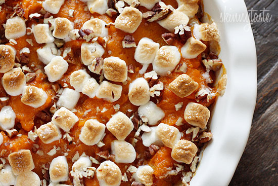 Sweet-Potato-Casserole-with-Marshmallows-and-Pecans