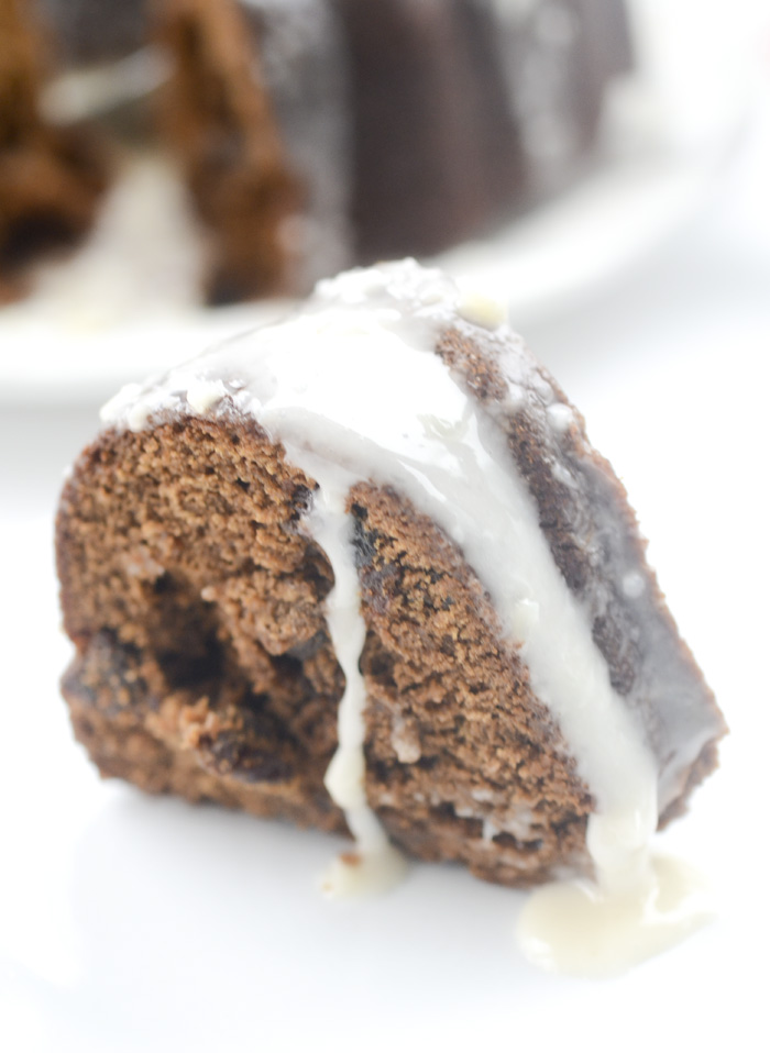 Glazed Gingerbread Bundt Cake