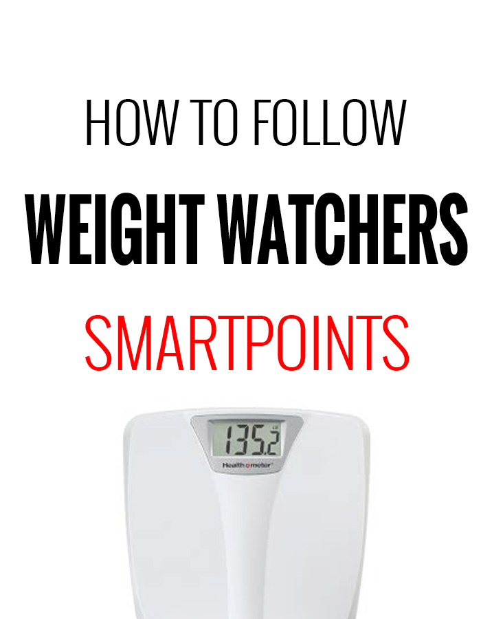 How To Follow Weight Watchers Smartpoints Program Recipe Diaries