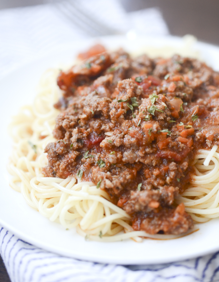 Slow Cooker Bolognese Sauce – Recipe Diaries