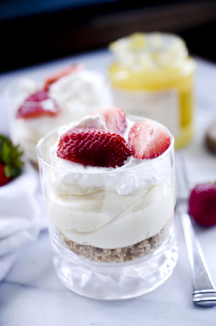lemon cheesecake mousse parfaits recipe diaries. Black Bedroom Furniture Sets. Home Design Ideas