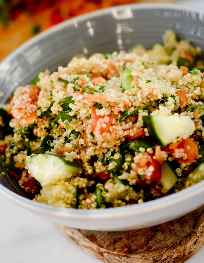 Thai Quinoa Salad Recipe Diaries