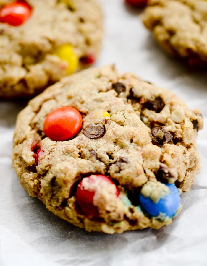 peanut butter monster cookies 008