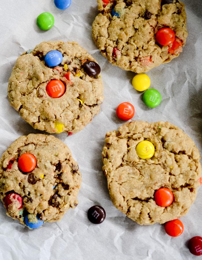 peanut butter monster cookies 011
