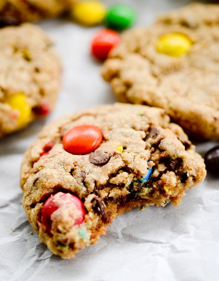 peanut butter monster cookies 016