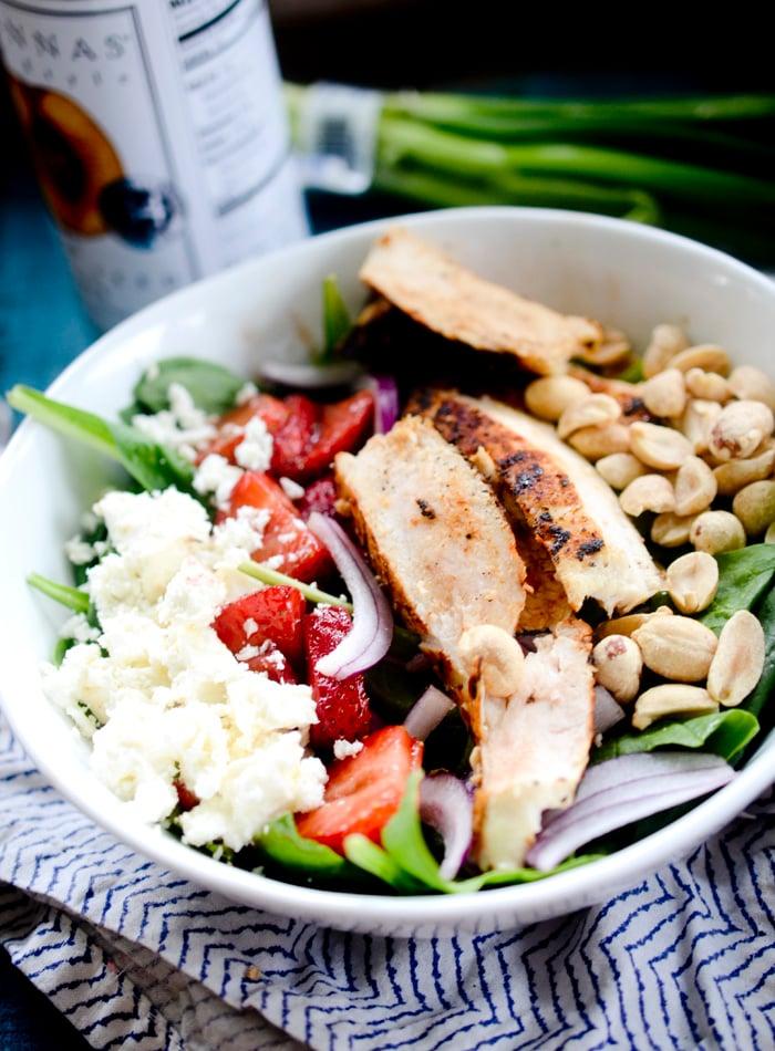 strawberry chicken salad 006