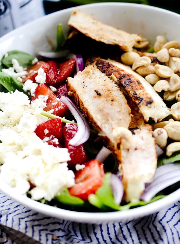 strawberry chicken salad 010